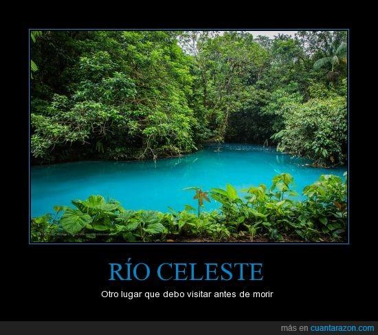 azul,celeste,costa rica,río,visitar