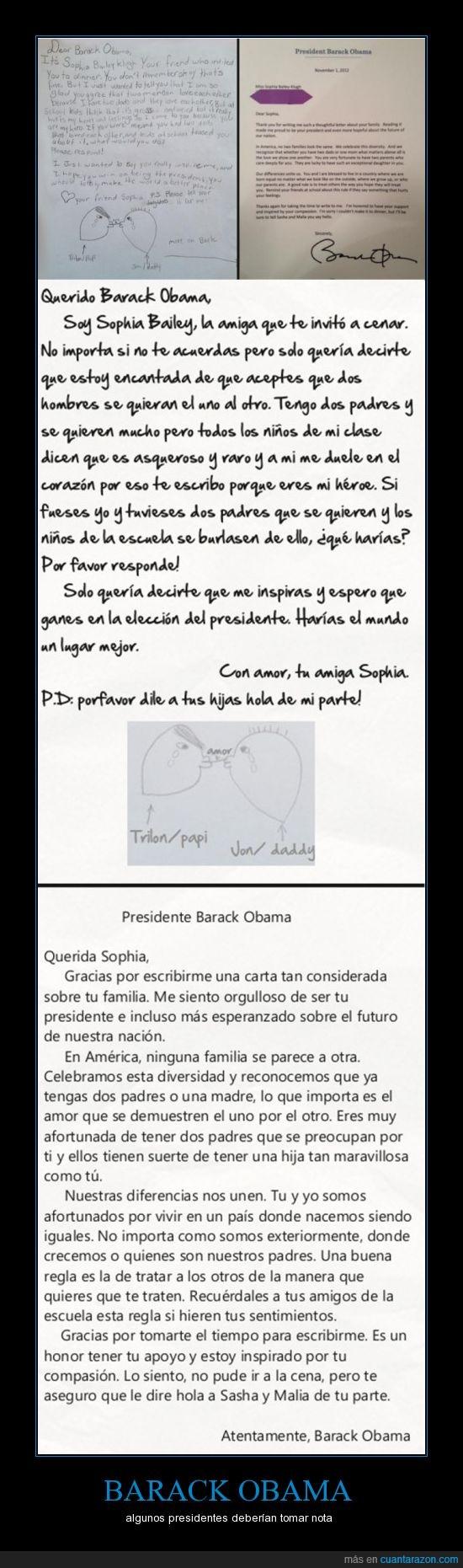 amor,barack obama,homofobia,homosexuales,política,tienes mi respeto
