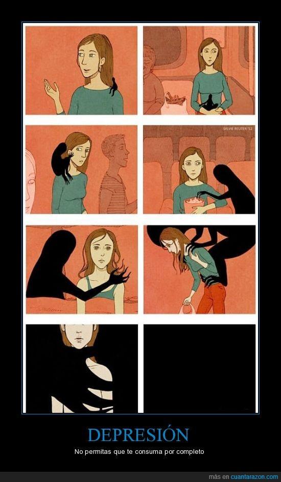consumir,depresion,esto es serio así que nada de cachondeo,infelicidad,no dejes que pase,tristeza