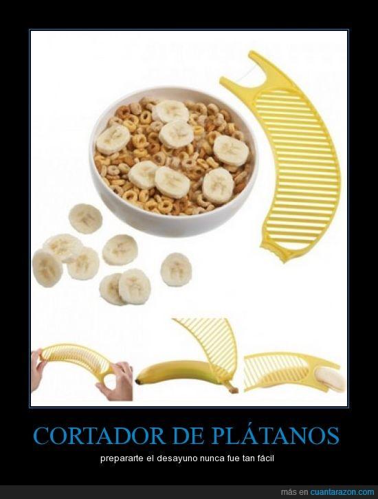 cortar,fácil,invento,plátano