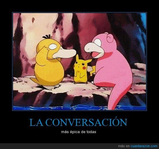 conversacion,pokemon,psyduck,slowpoke