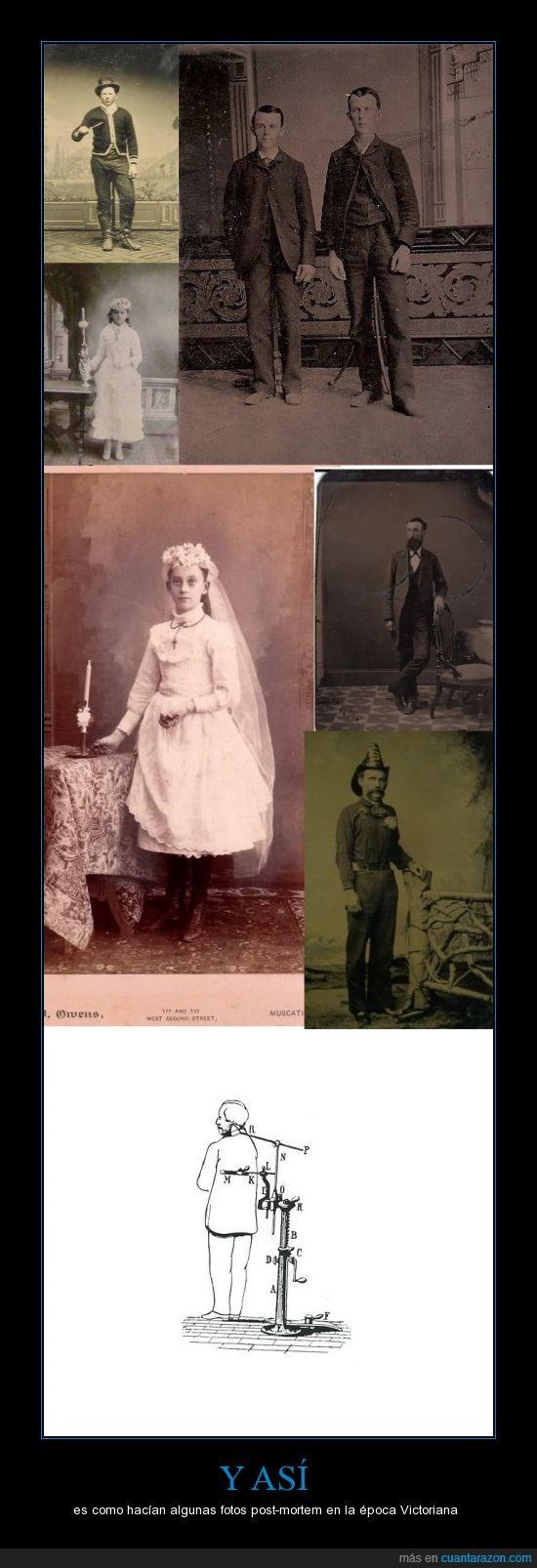 cadaver,da grima pero la historia es así,fotos,muerto,post-morten,postmortem,victoriana