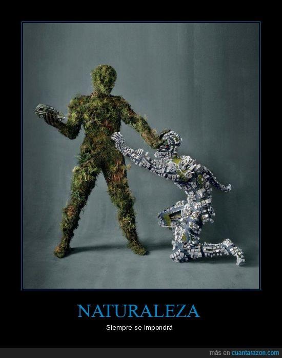 auto,civilización,lucha,naturaleza