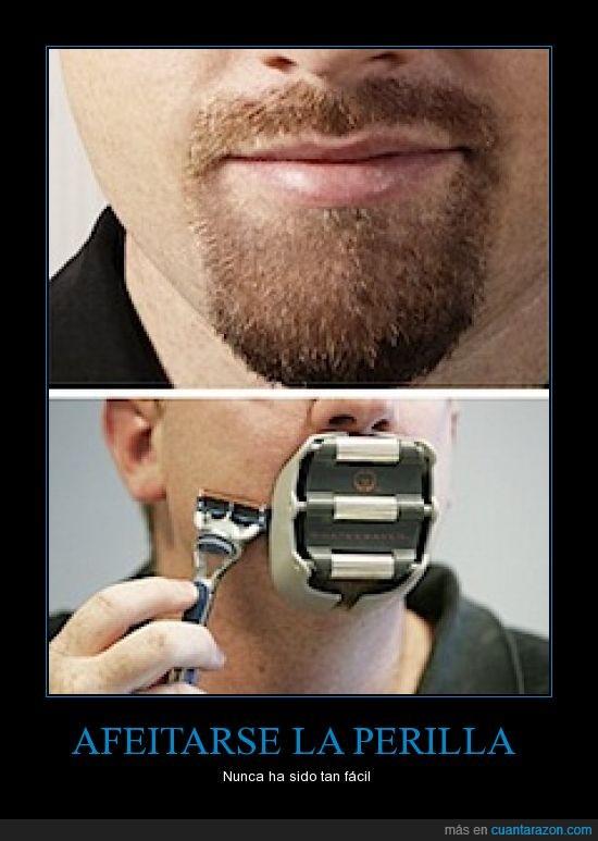 afeitarse,barba,cuchilla,fácil,forma,Perilla