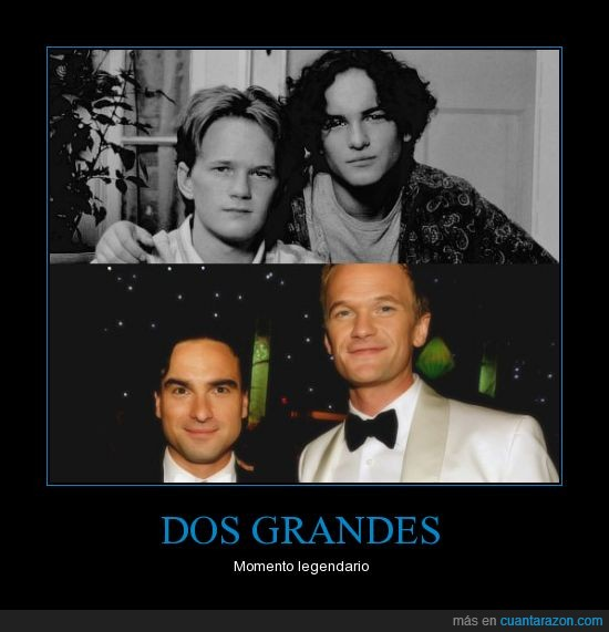 barney stinson,como conoci,himym,leonard,neil patrick,tbbt,the big bang theory