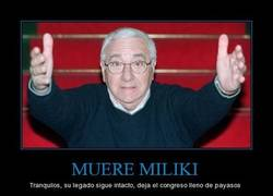 Enlace a MUERE MILIKI