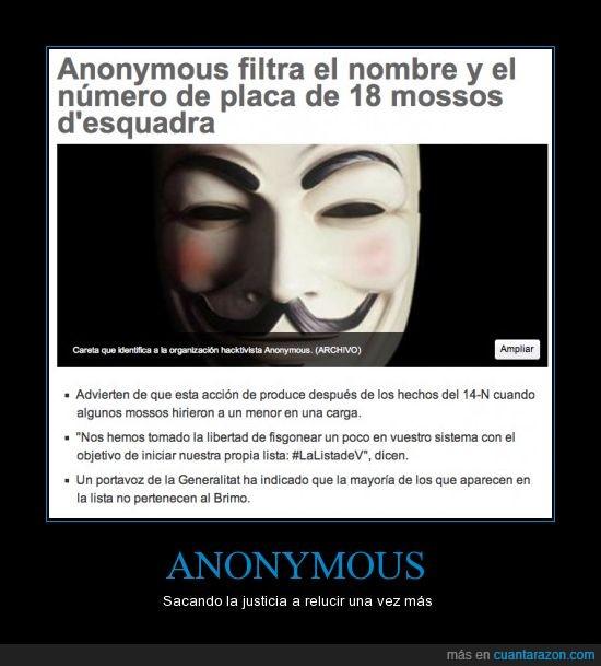 anonymous,justicia,mossos,placas