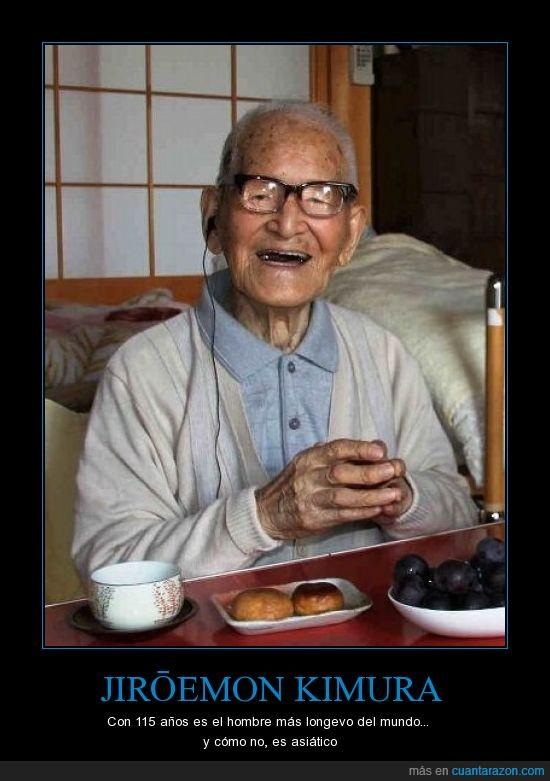 115,Asiático,Japonés,Jiroemon,Kimura,longevo,viejo