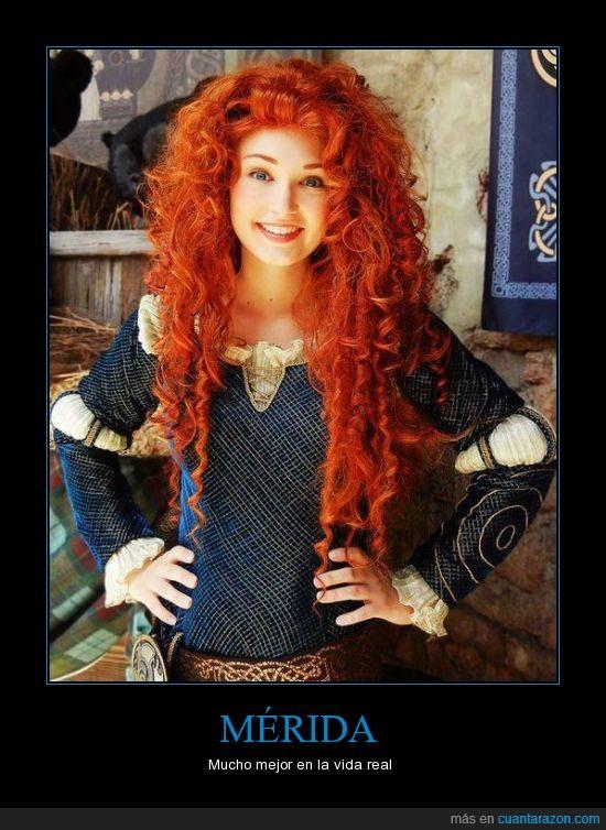 basta de princesas tontas,brave,indomable,merida,princesa