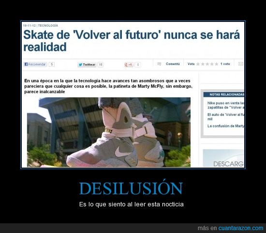 aeropatin,back to the future,imposible,regreso al futuro,skate