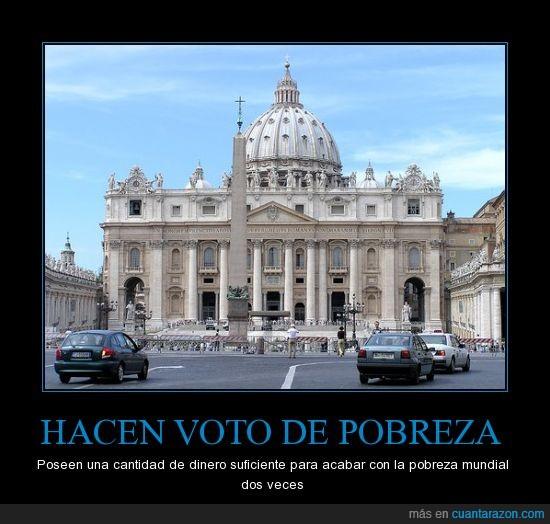 Dinero,Papa,Pobreza,Religion,San Pedro,Vaticano,Voto