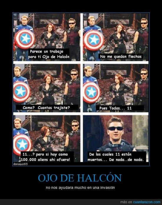 Capitan America,flecha,los vengadores,Ojo de Halcón,The Avenger