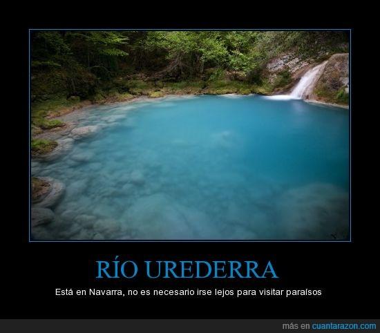 españa,navarra,paraiso,rio,urederra