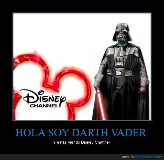 Darth vader,Disney channel,horror,profecia maya