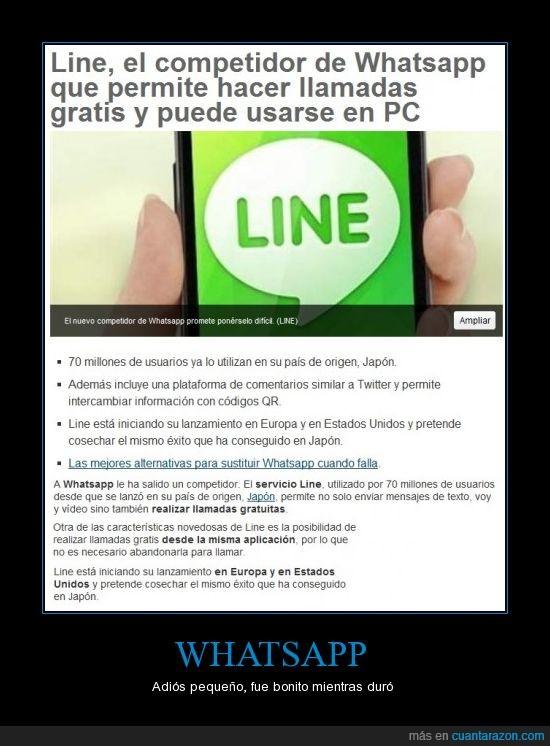 gratis,line,llamadas,noticia,whatsapp