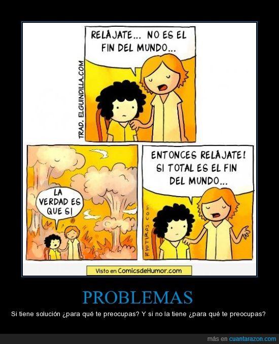 fin del mundo,preocupación,problemas
