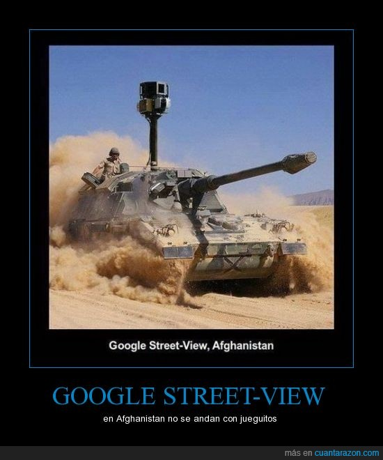 afghanistan,google,juegos,mapas,street view,tanque