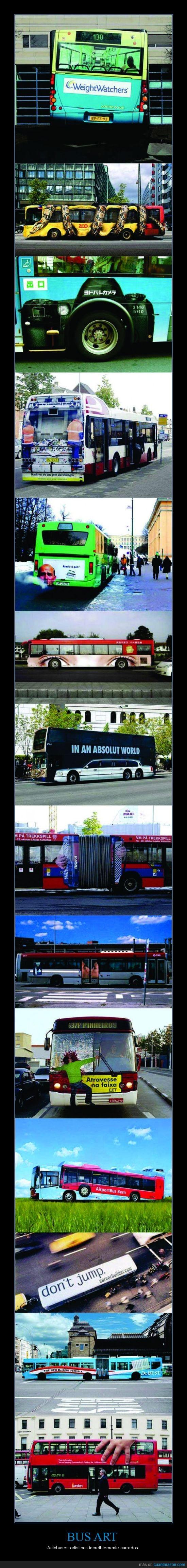Arte,Artísticos.,Bus,Colectivo,Transporte