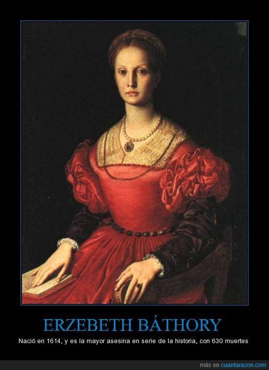 1614,asesina,asesinato,erzebeth bathory,muertes