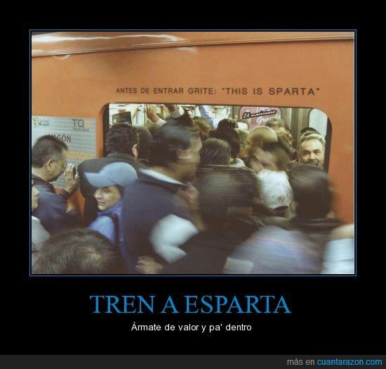 esparta,metro,sobrepoblacion,subtearraneo