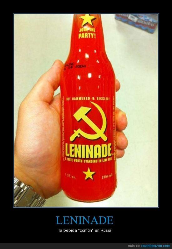 capitalismo,común,COMÚN-ismo,comunismo,lenin,limonada,rojo,rusia