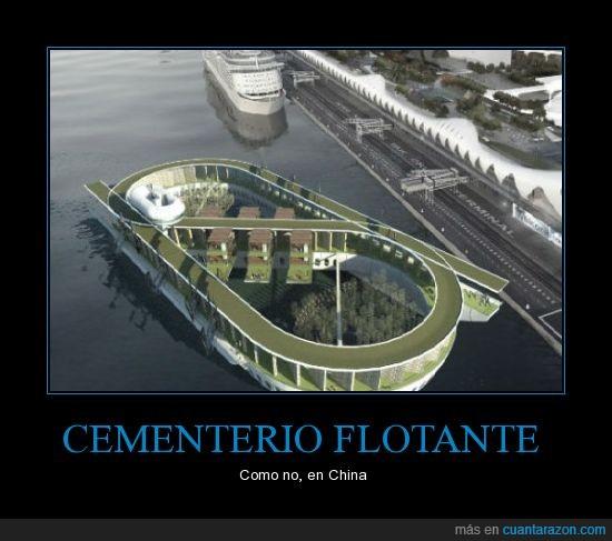 cementerio,china,flotar
