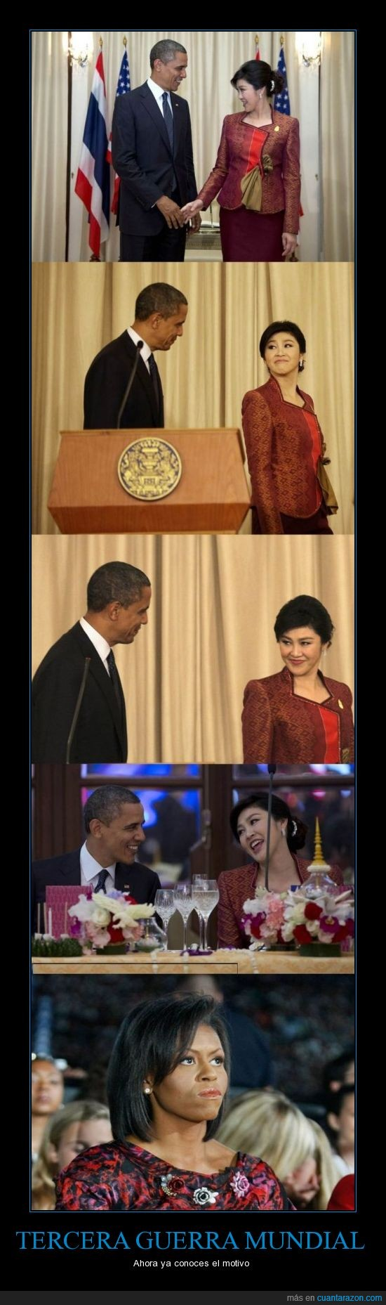 Barack Obama,Chicas,China,Guerra Mundial,humor,Michlle Obama,Obama