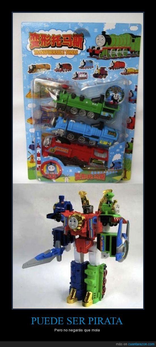 juguete,mola,pirata,thomas,transformer