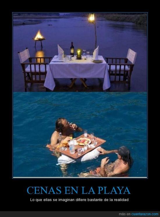 agua,cena,desilusión,flota,mar,pareja,playa,romantico,tabla