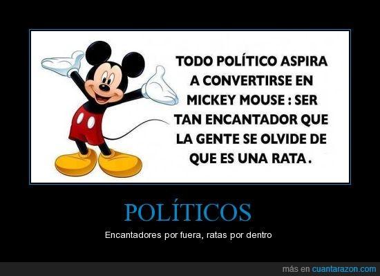 disney,mickey,mickey mouse,politicos,ratas,raton