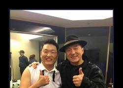 Enlace a JACKIE CHAN & PSY