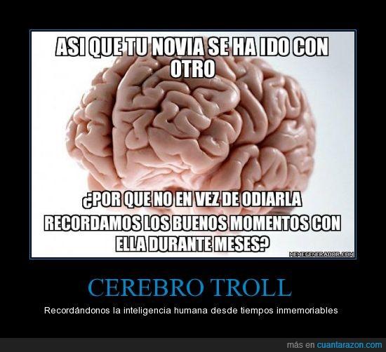 buenos,cerebro,ex,inspiración de Lucía,meses,momentos,novia,recordar,superar,troll