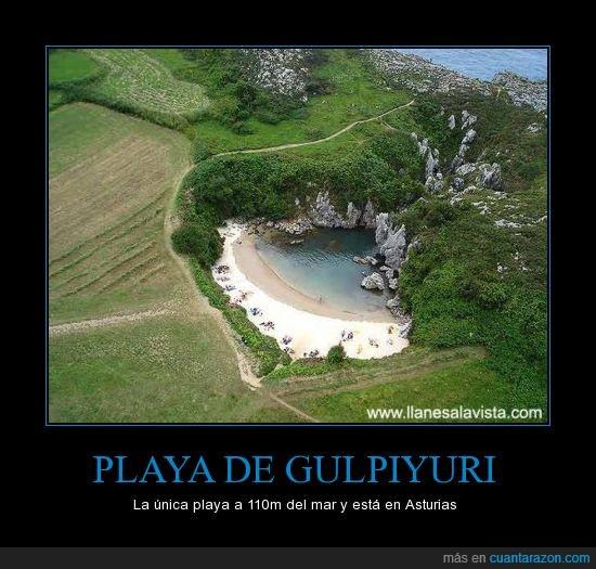 asturias,gulpiyuri,paraiso,playa