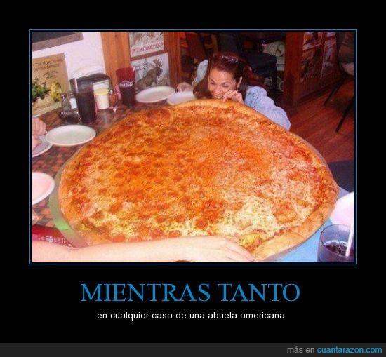 abuela,casa,grande,pizza