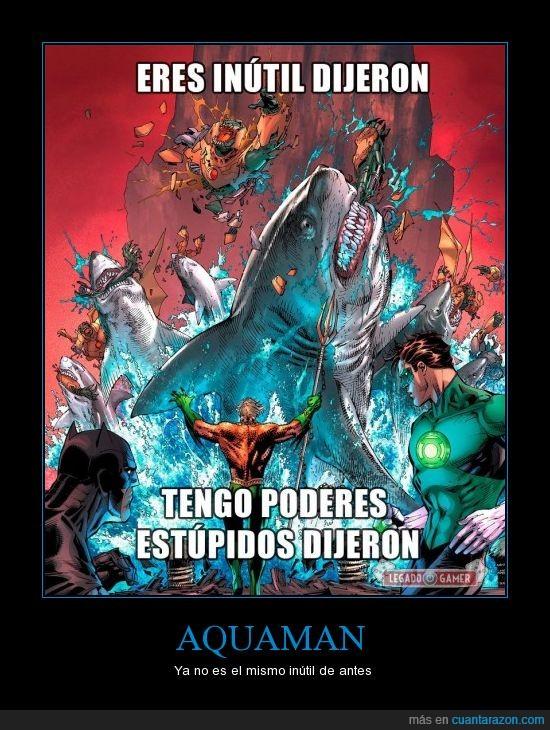 Acuaman,DC comics,El Leviathan,El Megalodon,Kraken