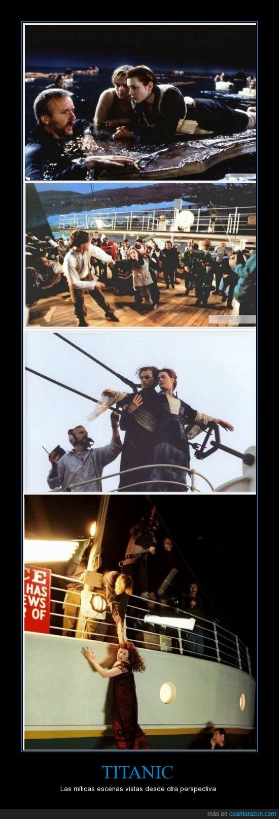escenas,James Cameron,making off,Titanic