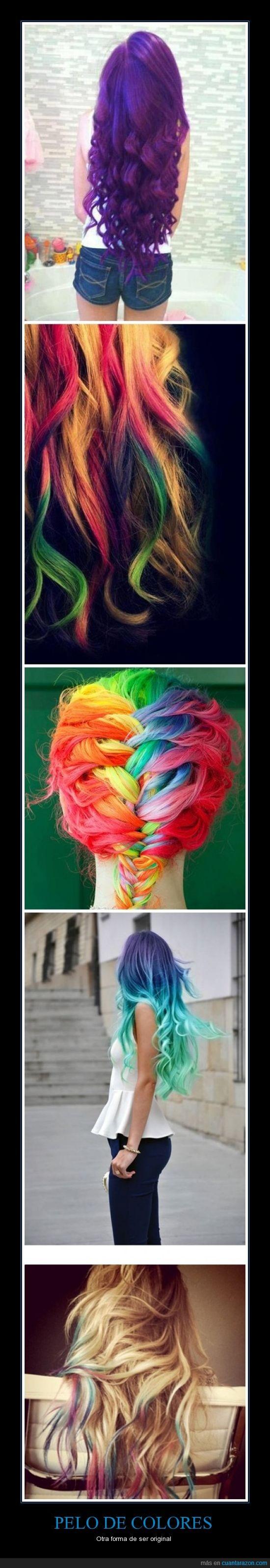 colores,decoloración,original,pelo,peluca,se tiñen cada semana,tendrán el pelo muerto en un mes