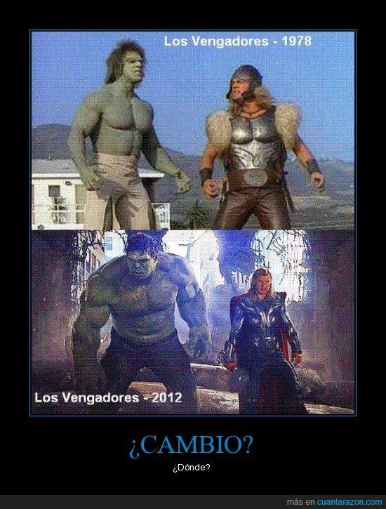 1978,2012,cambio,cine,hulk,martillo,thor,vengadores