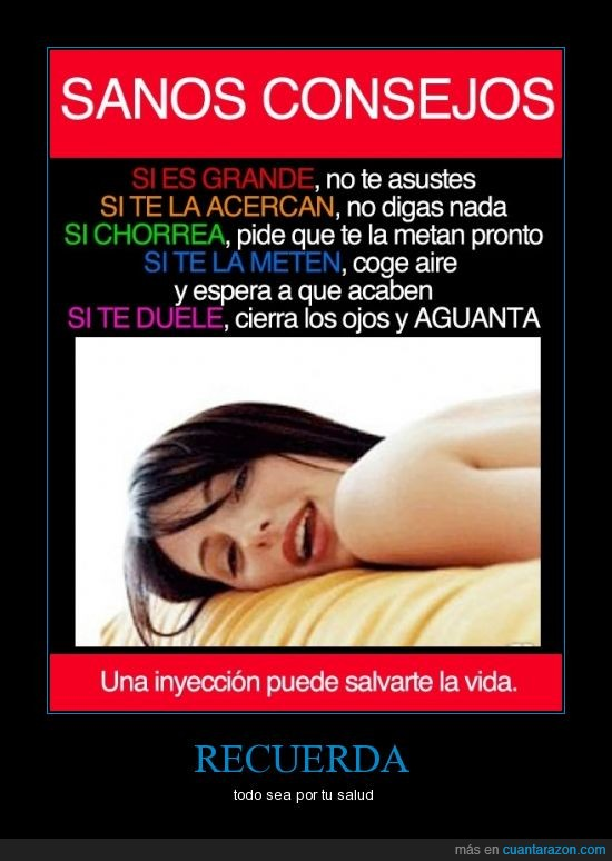 cama,chica,consejo,dolor,inyección,malpensado,sano,vacuna