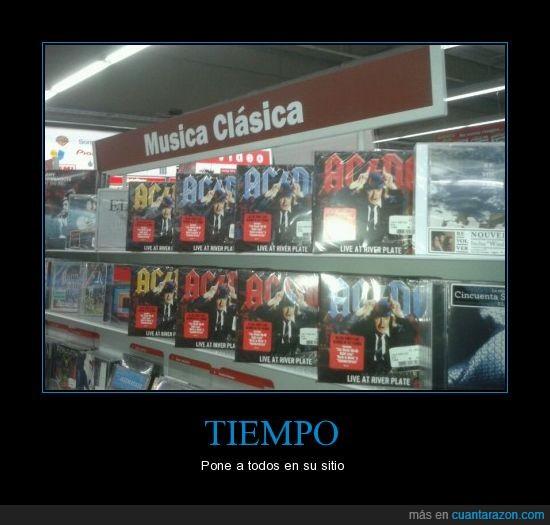 ACDC,Ávila,Mediamark,Música clásica,Tiempo