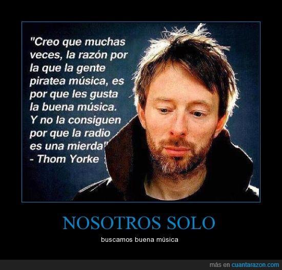 Cy Vash,Musica,Thom Yorke,Verdadera música,Yeah!