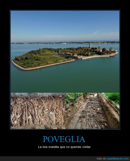 enormes fosas,la isla del no retorno,peste bubónica,poveglia,psiquiátrico