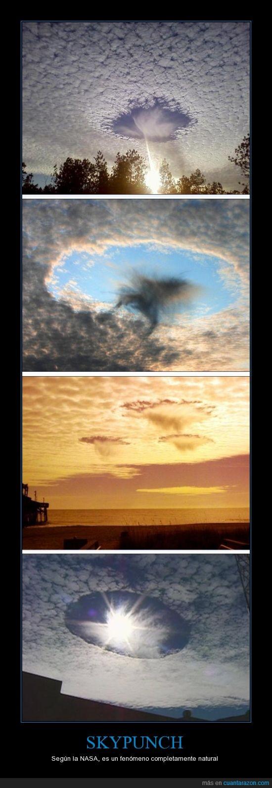 agujero en el cielo,cielo,fenómenos naturales,nasa,próximo tema espeluznante de cuarto milenio,raro,skypunch