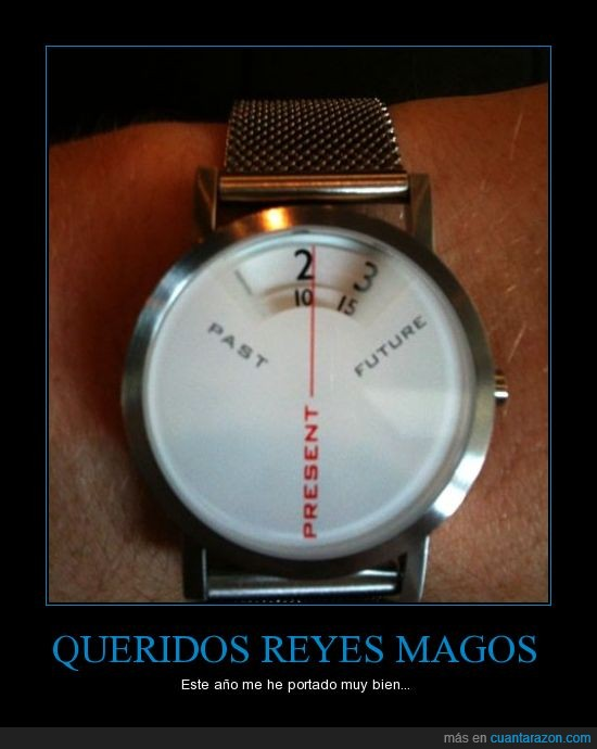 futuro,original,pasado,presente,Reloj,simple