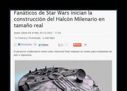 Enlace a EL HALCÓN MILENARIO