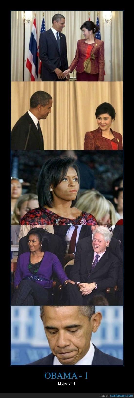 clinton,cuernos,guerra,michelle,Obama,USA