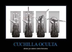 Enlace a CUCHILLA OCULTA