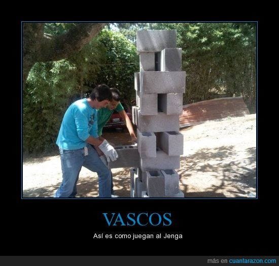 jenga,juegos,Vascos