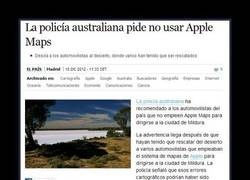 Enlace a IPHONE CON APPLE MAPS