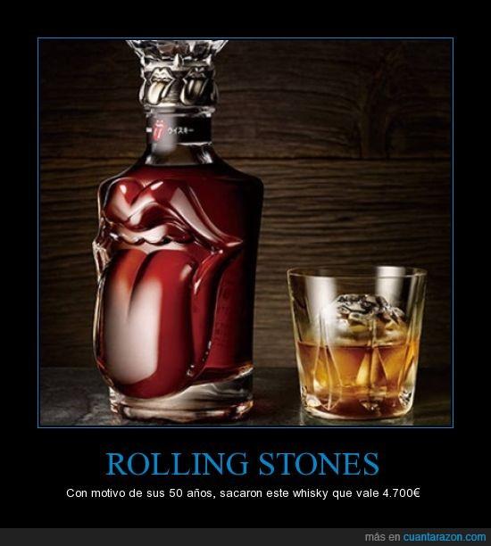 50,6300,aniversario,años,botella,dolares,edicion,especial,limitada,rolling stones,whisky